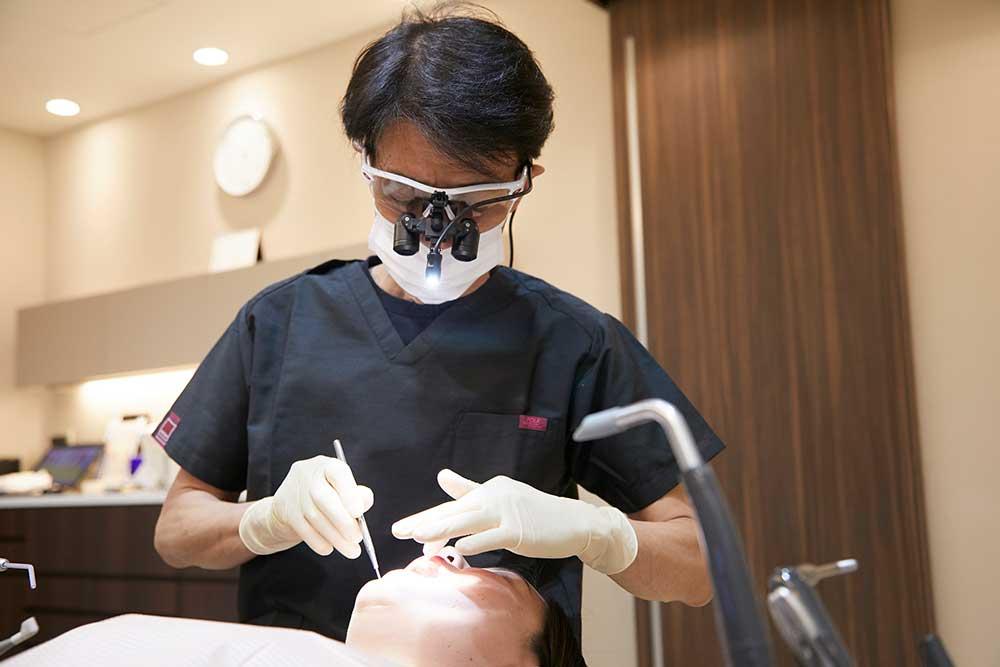 歯科医のテクニック