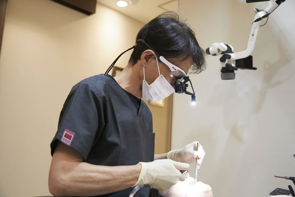 審美歯科の専門家
